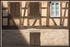Fassade eines Fachwerkhauses, Plieningen