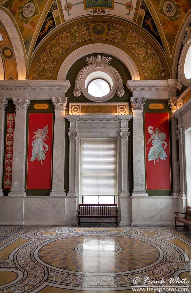 Upstair lobby, Library of Congress #2