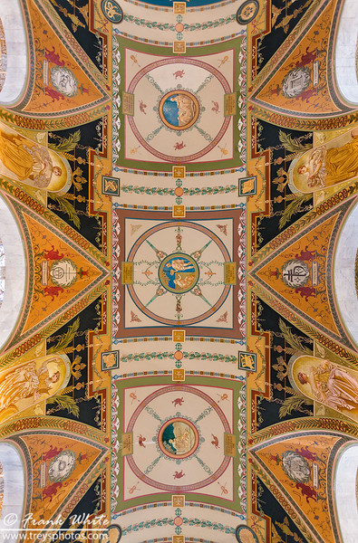 Ceiling detail #2, hallway Library of Congress