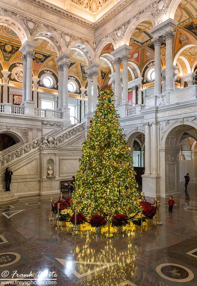 Christmas season at the Library of Congress