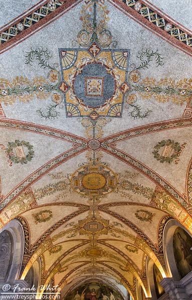 Hallway ceiling #1