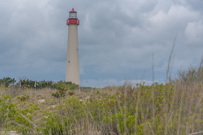 Lighthouse above the Dunes