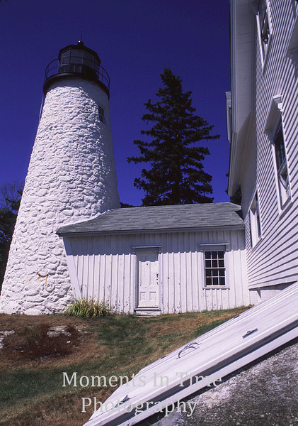 Lighthouse with cellar