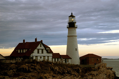 Portland Head Lighthouse near Portland, ME