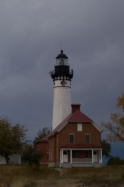 AuSable Point Lighthouse<br /> Pictured Rocks National Lakeshore