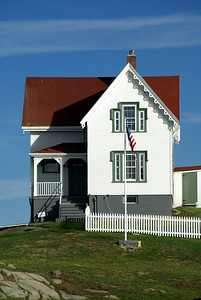 Cape Neddick Lightkeepers Cottage