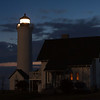 Tibbett's Point Lighthouse and residence - Cape Vincent,NY