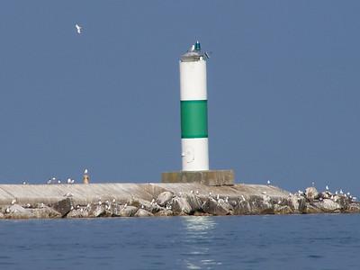 Sturgeon Bay Pier Head light tower