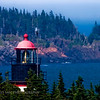 West Quoddy Head Light located in Lubec, Maine. It's the eastern most point in the U.S.