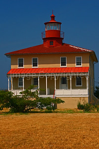 Point Lookout Lighthouse - Point Lookout State Park Md - 9/6/07
