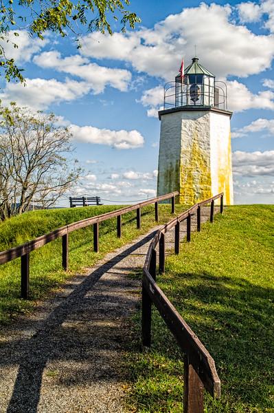 Stony Point Lighthouse, Stony Point Battlefield State Historic Site, New York