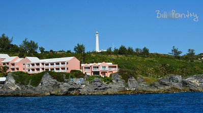 The Reef's with Gibb's Hill Lighthouse behind, Southampton, Bermuda