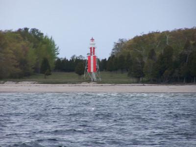 Plum Island front range light.