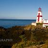 East Quoddy Head Light. Located on Campobello Island in New Brunswick, Canada.