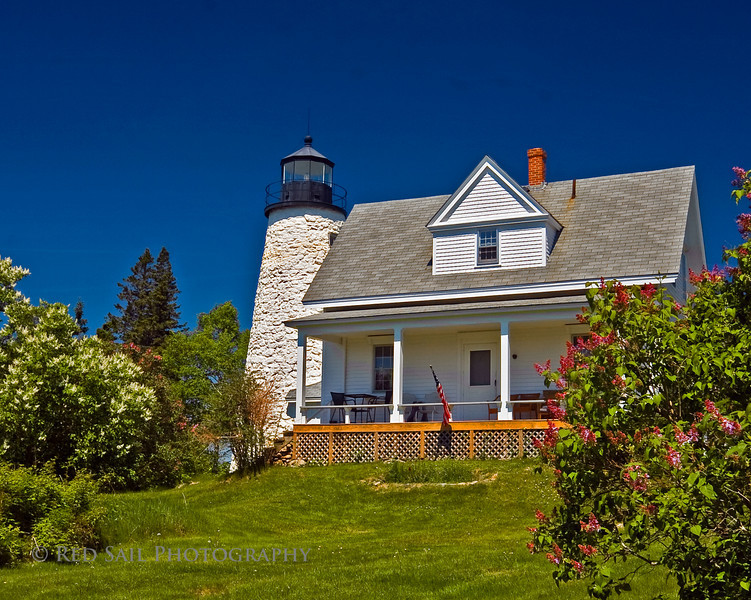 Dyces Head Light. Castine, Maine (Blue Hill Peninsula)