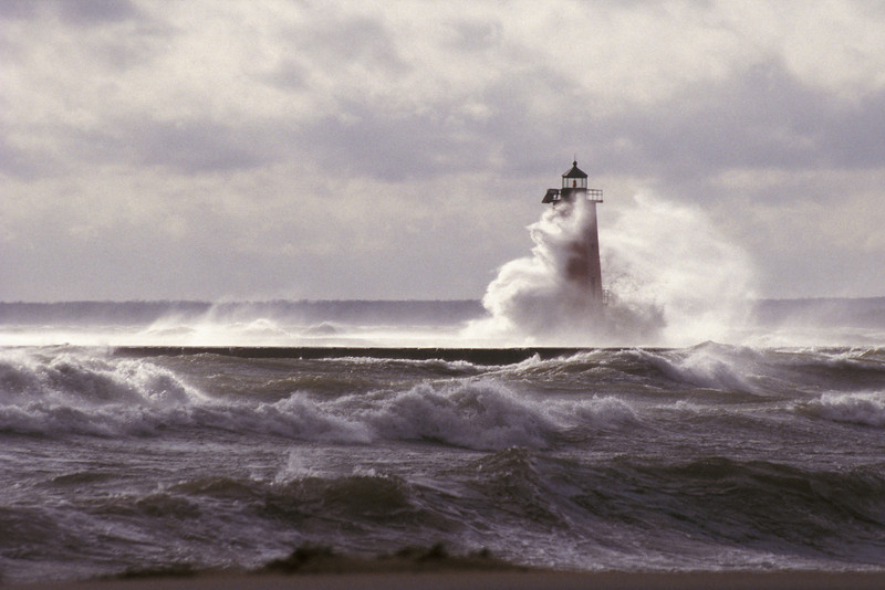 Manistique Harbor Lighthouse, <br /> Manistique, Michigan