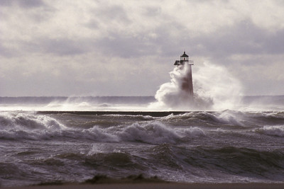 Manistique Harbor Lighthouse,  Manistique, Michigan