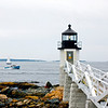 Marshall Point Light in Port Clyde, Maine.