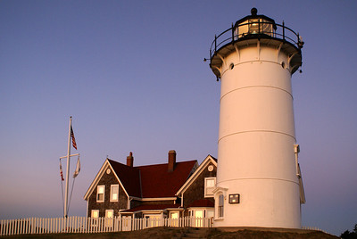Nobska Lighthouse near Wood's Hole, MA
