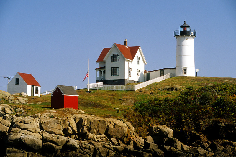 "Cape Neddick (""Nubble"") Lighthouse, York, York County, Maine"