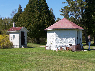 Outbuildings at Cana Island, Baileys Harbor, Door County, WI