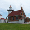 The Sherwood Point Lighthouse holds the distinction of being the final manned light on the Great Lakes. Shortly after celebrating its centennial, the light was automated.