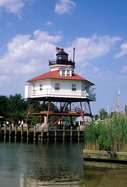 Drum Point Lighthouse, Calvert Marine Museum, Maryland