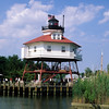 Drum Point Lighthouse, Calvert Marine Museum, Maryland