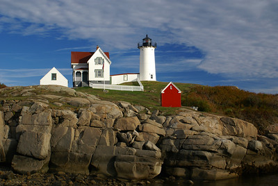 Cape Neddick Lighthouse in York, ME