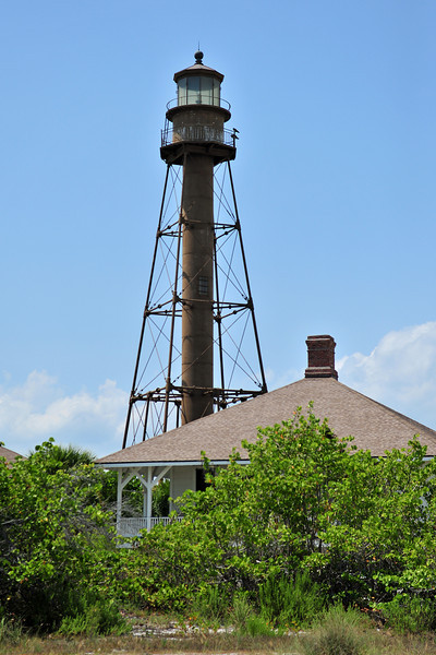 Sanibel Lighthouse<br /> Sanibel, Florida<br /> 045-3651a