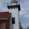 Sherwood Point Lighthouse:<br /> The tower is 35 feet tall and sits atop a limestone bluff. The light's total height above Green Bay is 60 feet.