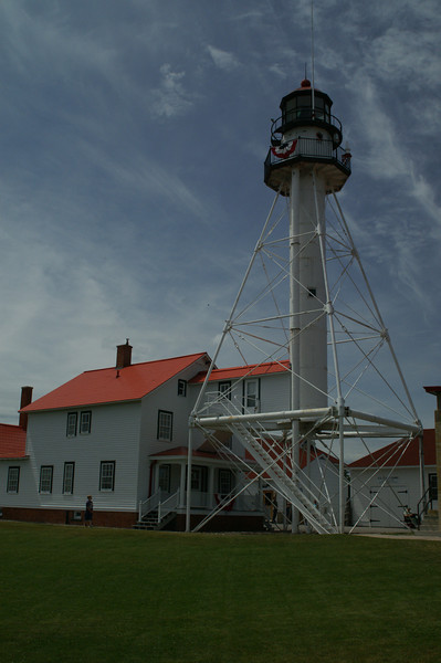 Whitefish Point Lighthouse and Life Saving Station