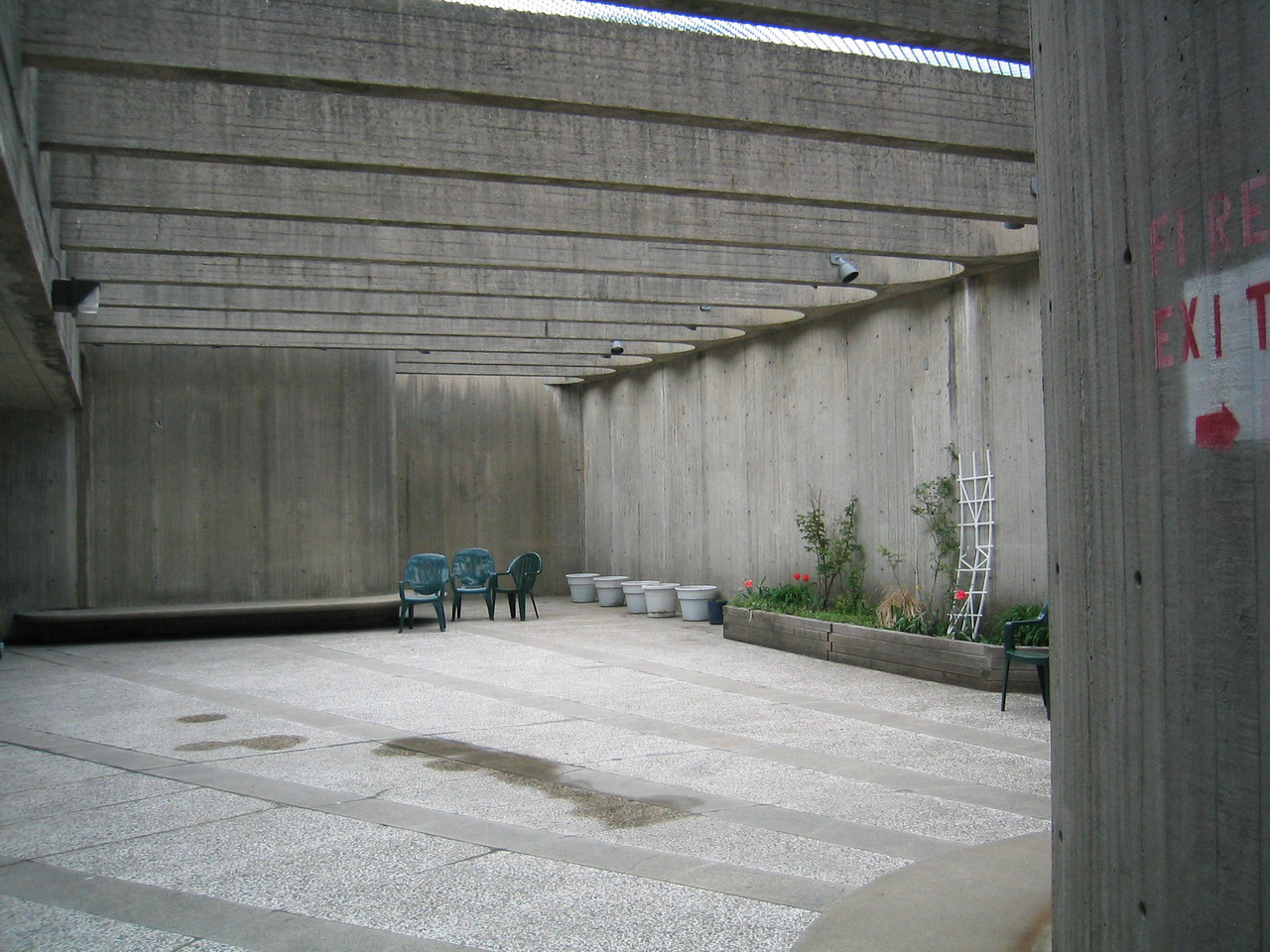 4th Floor outdoor patio on Merrimack Street side