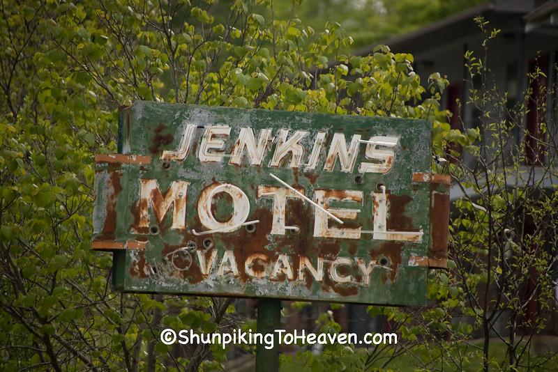 Rusty Old Motel Sign, Izard County, Arkansas