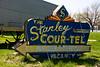 Vintage Neon Motel Sign, Henry's Rabbit Ranch on Historic Route 66, Staunton, Illinois