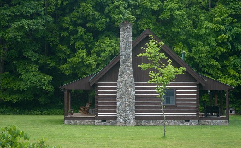 West Virginia cabin.