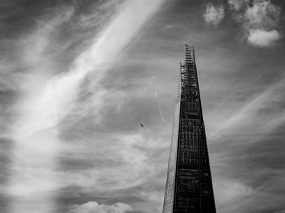 The Shard and Two Planes.