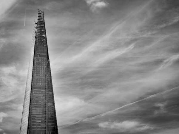 The Shard and Clouds