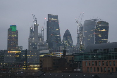 Morning View of the City of London from Southwark.