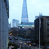 The Shard from Southwark Bridge Road at Dusk