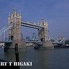 london- Tower Bridge over the river Thames