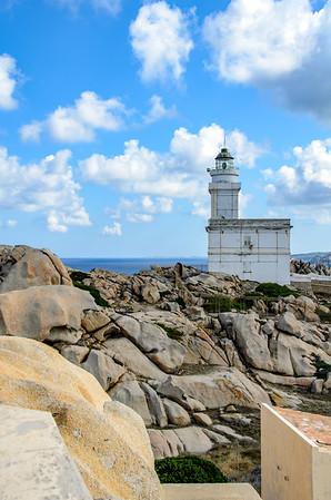 Lighthouse on Capo Testa