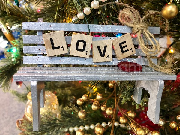 Love Ornament - Bedford Visitor Center