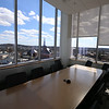 Tour of the new Lowell Justice Center. View from a jury deliberation room on the top floor.  (SUN/Julia Malakie)