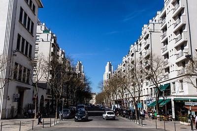 Rue Henri Barbusse, Villeurbaine