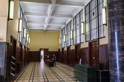 Villeurbaine Town Hall - interior