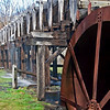 Cooper's Mill, NJ - waterwheel and flume<br /> 1826