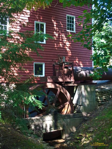 Wallace-Cross Mill, PA <br />    1826, restored 1980's