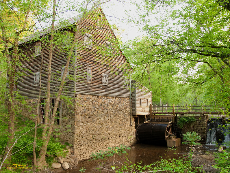 West Pt Mill, NC<br /> 1778, reconstructed 1973