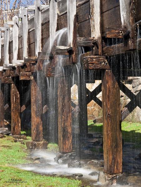 Cooper's Mill, NJ - flume<br /> 1826
